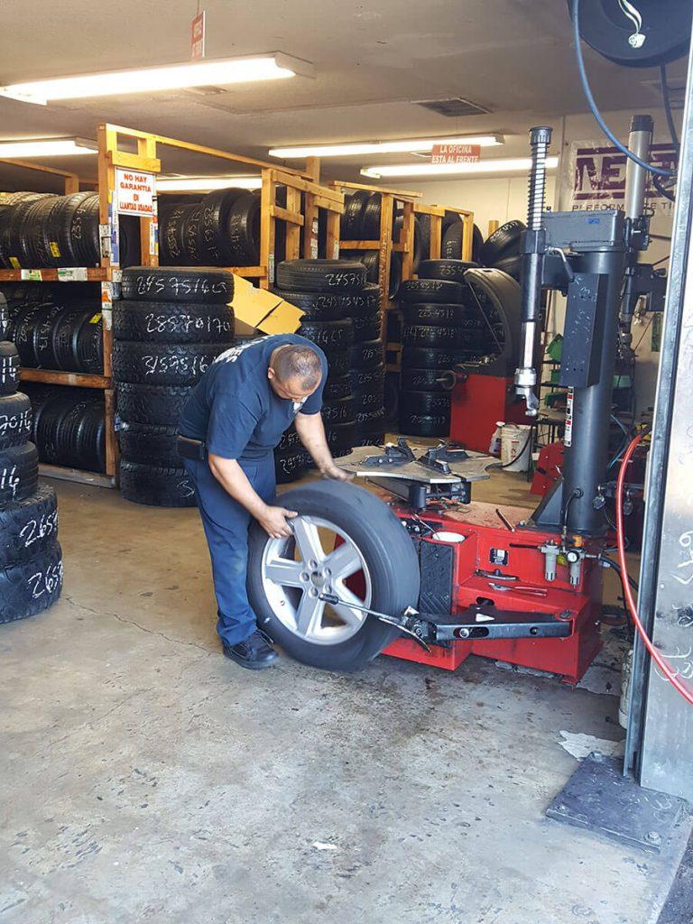 J V Tire Shop Tire Dealer Wheel Alignment Shop In Orange
